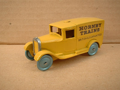 "DINKY TOYS COPY MODEL 28 SERIES TYPE 1 DELIVERY VAN ""HORNBY TRAINS"""