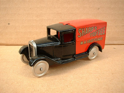 "DINKY TOYS COPY MODEL 28 SERIES TYPE 1 DELIVERY VAN ""SHARP'S TOFFEE"""